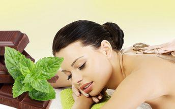 ČOKOLÁDOVÉ HÝČKÁNÍ s blahodárnými účinky! 40 min. masáž čokoládovým olejem společně s hřejivým 20 min. zábalem - to je balzám na tělo i duši za úžasných 289 Kč!