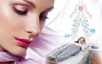 10x 60 minut lymfatické masáže LYMFOJETT- 6 s 10x 30 minutovou obličejovou regenerací přístrojem Led active THERAPY