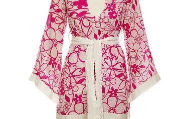 Dámské květované šaty ve stylu kimona Savage Culture