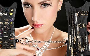 Štýlový závesný organizér na šperky len za 4,99€ s poštovným v cene