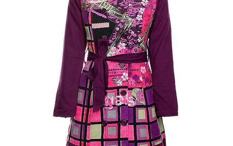 Dámský fialový kabát Savage Culture