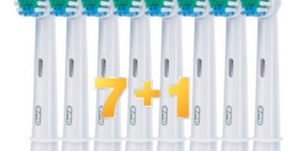 Náhradní kartáčky Braun Oral-B Precision Clean 7 + 1 ZDARMA navíc se slevou 62%!!