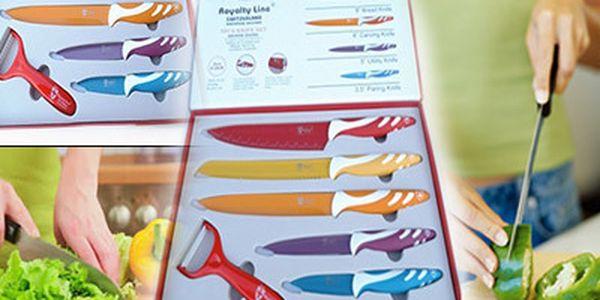 Titanové nože s keramickou vrstvou 5 ks