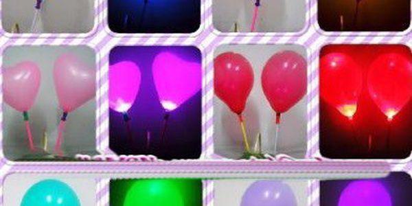 Svítící nafukovací balónek - doslova rozsvítí každou párty!