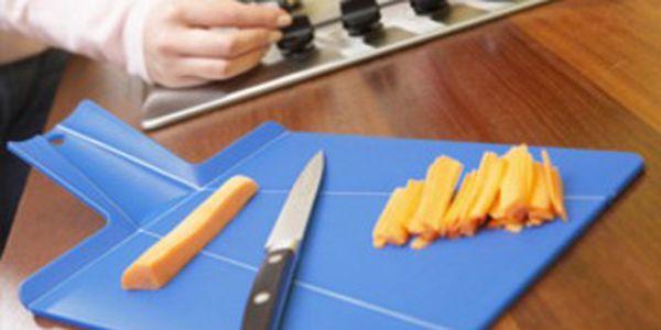 Dvě skládací kuchyňské prkénka - dokonalá vychytávka na krájení potravin!