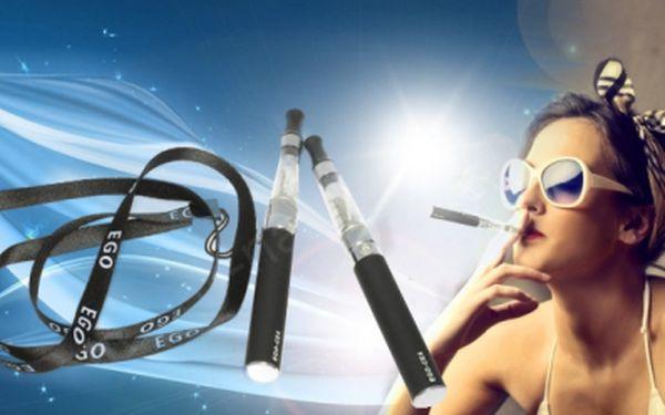 Elektronická cigareta eGO-CE4! Sada 2ks v pouzdře a poutko, jen za 399 Kč VČETNĚ POŠTOVNÉHO! Nejlevnější vylepšená verze elektronické cigarety eGo, vydrží déle a přináší ještě jemnější chuť! SLEVA 56%!