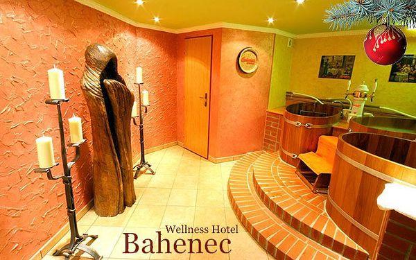 5denní pobyt ve wellness hotelu Bahenec pro dva s polopenzí