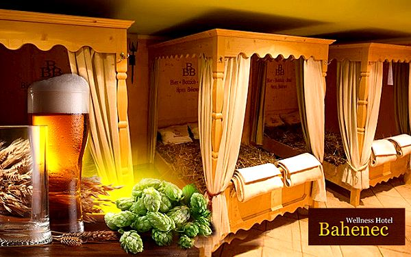 3denní pobyt ve wellness hotelu Bahenec pro dva s polopenzí