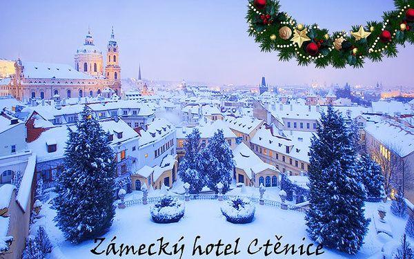 3denní pobyt v Zámeckém hotelu Ctěnice**** pro dva v Praze