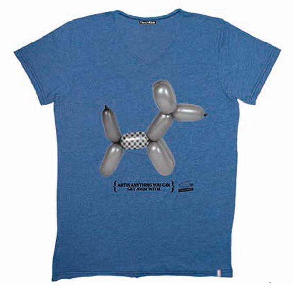 Bavlněné tričko French Kick Pluto