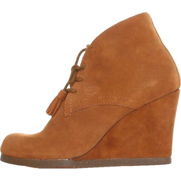Dámské velbloudí kotníkové boty Dr. Scholl s klínem