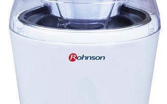 Zmrzlinovač ROHNSON R-5000 vhodný pro přípravu chutného sorbetu a zmrzliny