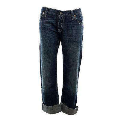 Dámské modré džíny s vyšisovaným lookem Nolita