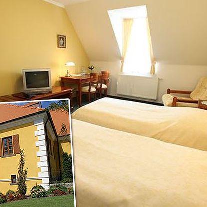 Luxusní 3denní pobyt v největší vinařské obci republiky pro 2 osoby ve Vile Jarmile