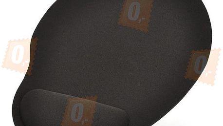 Ergonomická podložka pod myš - černá a poštovné ZDARMA! - 32805852