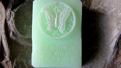 Mýdlo Motýl obsahující výtažek ze Zeleného čaje