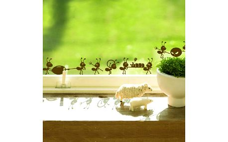 Samolepka na okno či zeď - mravenci a poštovné ZDARMA! - 36505871