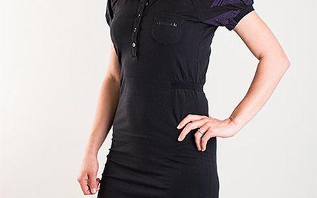 Sportovní černé elastické šaty Reebok