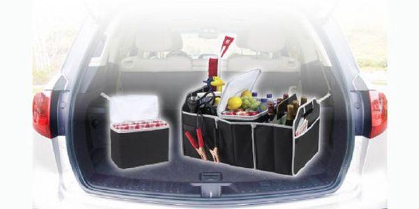 199 Kč za vynikajícího pomocníka, který se hodí do každého auta, bytu, kanceláře atd.. Pořiďte si praktický organizér a získejte zdarma chladící tašku, vhodnou např. na piknik!!