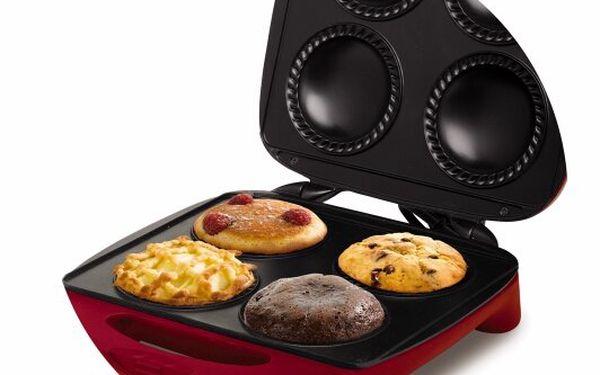 Muffinovač Moulinex SM 2205 Pie&Co - připravte snídani, večeři, svačinu irychlý snack