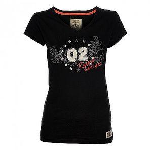 Dámské černé tričko Russell Athletic