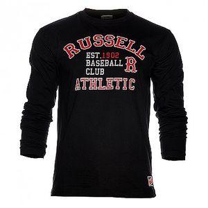 Pánská černá mikina Russell Athletic