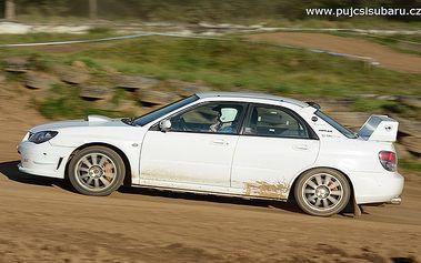 Jízda v Subaru Impreza WRX STi nebo BMW E36 328i na rallycrossové trati - 6 okruhů