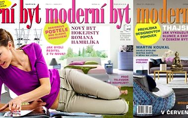 Předplatné magazínu Moderní byt na celý rok