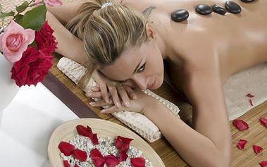 Hodinová mandlovo-čokoládová masáž zad a šíje lávo...