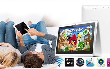 Multimediální ULTRATENKÝ TABLET ANGRY BIRDS Android 4.2.2. s duálním foťákem a kamerou za 1699 Kč! Varianta i s klávesnicí! Redukce na modem, chránič obrazovky, 2 HRY a osobní odběr na Praze 10 ZDARMA! Vhodný pro Vás i děti!