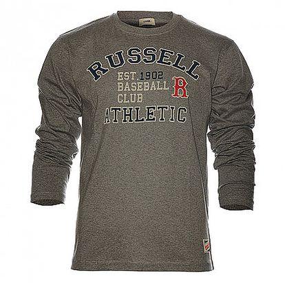Pánská šedá mikina Russell Athletic