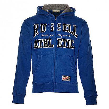 Pánská modrá mikina Russell Athletic
