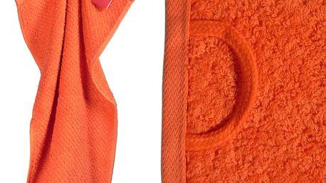 Froté ručníky z jemného materiálu s.Oliver UNI 3 ks 50x100 granatová