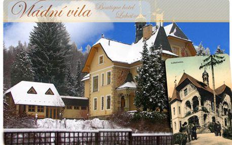 Až 6denní lázeňský pobyt od 2490 Kč ve Vládní vile v Luhačovicích PRO DVA!