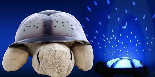 Svítící plyšová želvička s 64% slevou!