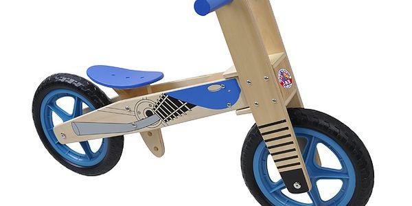 Odrážedlo dřevěné motorka 12