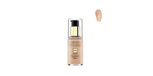 Facefinity 3 in 1 Foundation 55 Biege, make-up 30ml