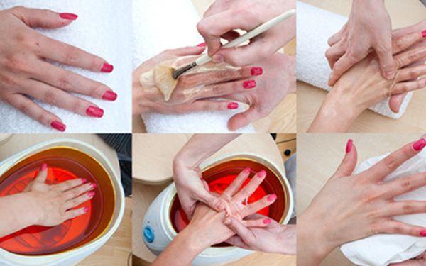Parafínové zábaly rukou 10 procedur za cenu 5-ti procedur - zdraví a krása pro Vaše ruce.
