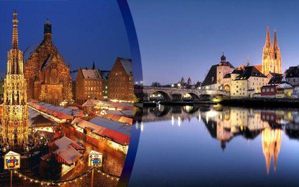 adventní zájezd do Norimberku a Regensburgu
