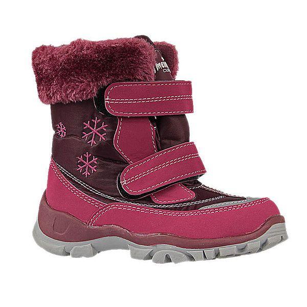 Zimní, voděodolné, větruvzdorné, dětské boty značky American.