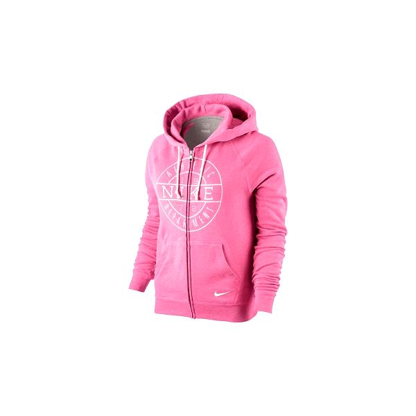 Dámská mikina - nike lt wt fleece graphic fz odye pro volný čas