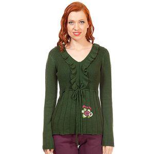 Dámský zelený svetr Rosalita McGee