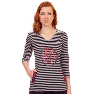 Dámské pruhované tričko s kapsami Rosalita McGee