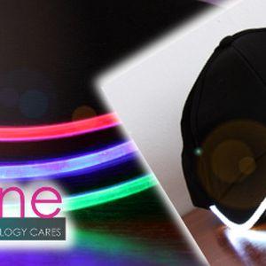 66% sleva na LED kšiltovky! Vyberte si z pěti barev osvětlení!