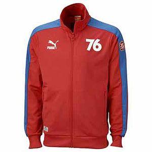 Pánská mikina - puma fotball archives t7 track jacket z retro kolekce československa