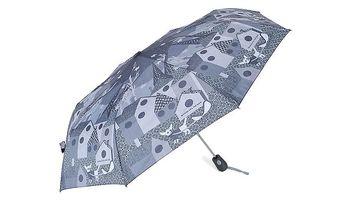 Dámský šedý deštník s potiskem Rosalita McGee