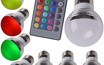 Multifarebná LED žiarovka s meniacimi farbami 10W s diaľkovým ovládačom len za cenu 19,99€
