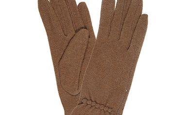Dámské hnědé rukavice Rosalita McGee