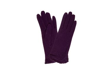 Dámské fialové rukavice Rosalita McGee