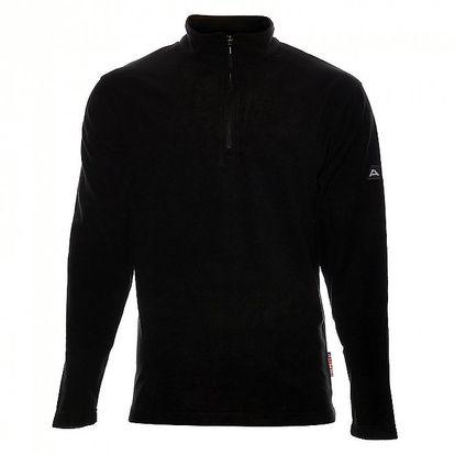 Pánská černá fleacová mikina Alpine Pro